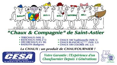 Bonnet mat riaux - Chaux st astier ...